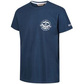 Regatta Cline III - T-shirt manches courtes Homme - bleu